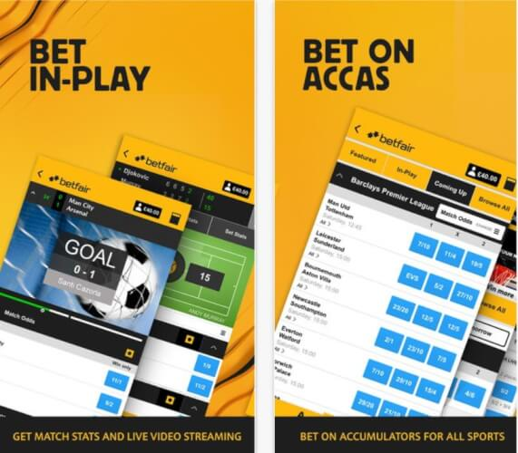 How to live stream on Betfair Mobile App