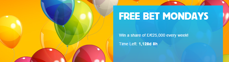 Betfair arcade free bet mondays