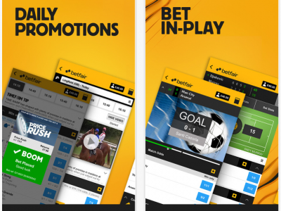 Betfair In-Play: watch live and bet