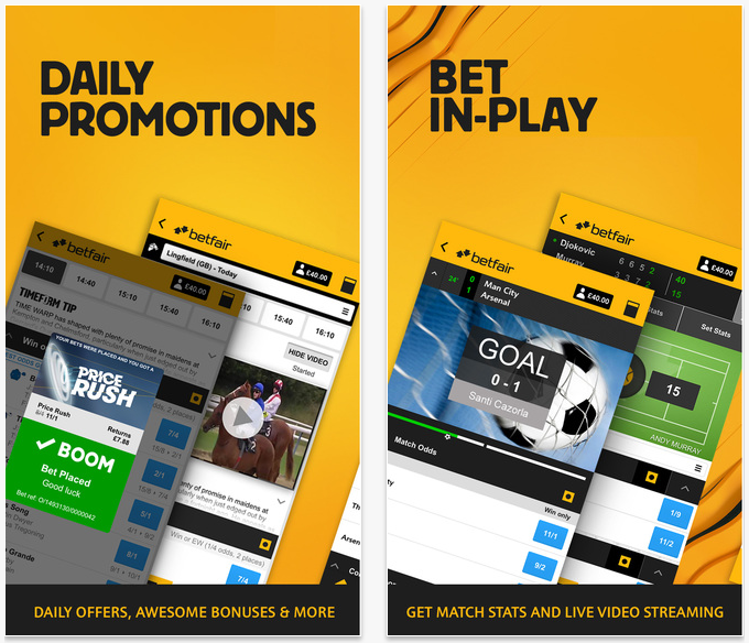 betfair app in-play