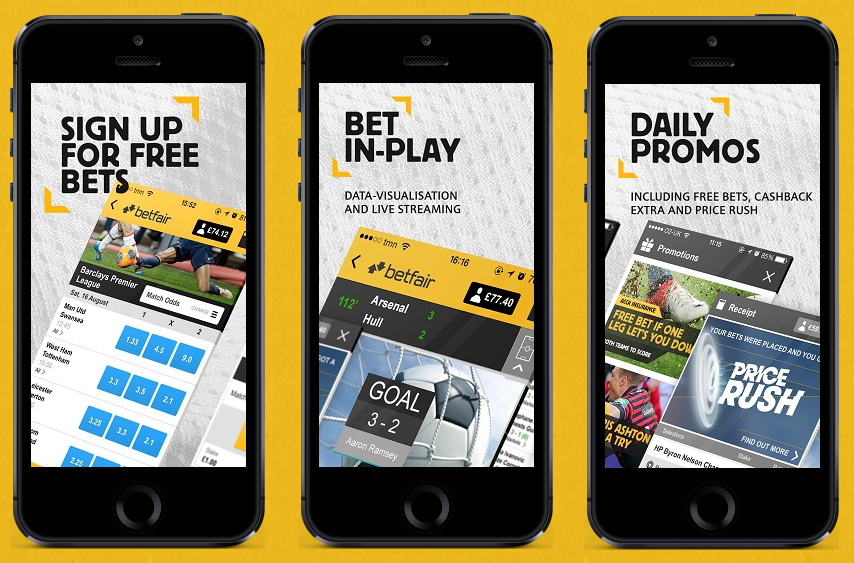 mobile app Betfair