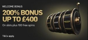 Betfair casino welcome bonus