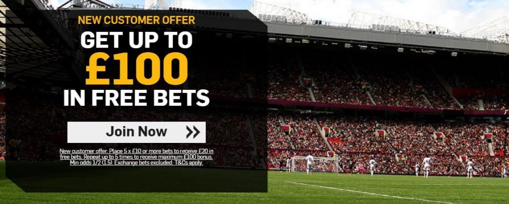 Betfair New Customer Offer