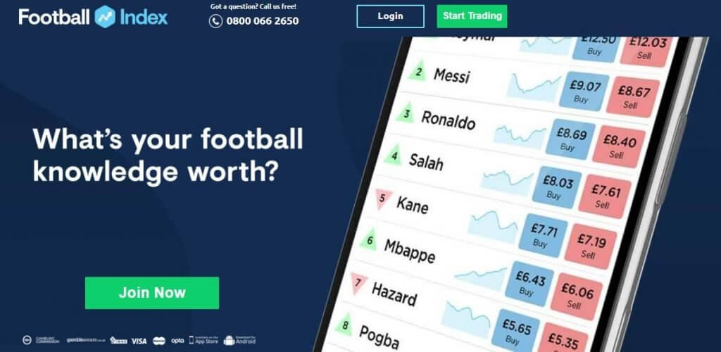 Football Index Bonus code