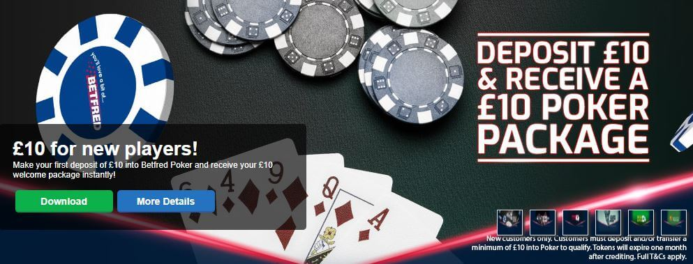 Betfred Tournament Tokens
