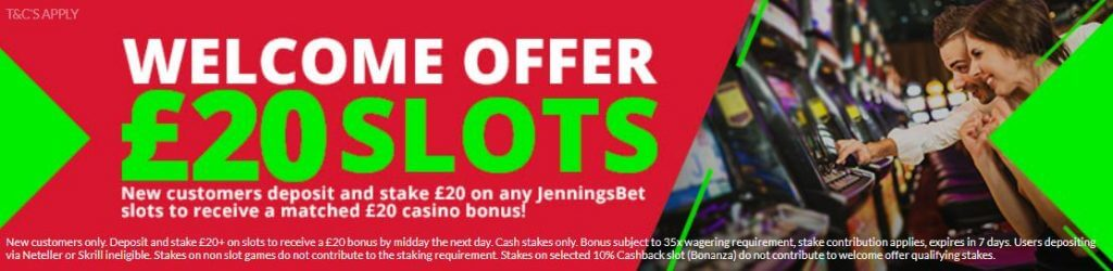 JenningsBet Casino Offer