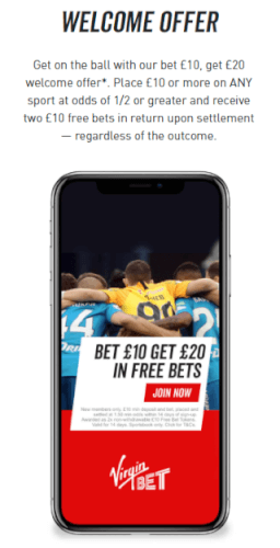Virgin Bet Welcome Offer