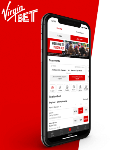 Virgin Bet Promo Code | Register now and get an extra £20